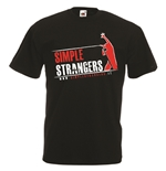 T-shirt con stampa transfer - SIMPLE STRANGERS