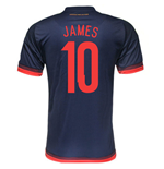 Maglia Colombia Away 2015/16 (James 10)