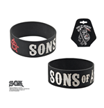 bracciale in gomma Sons Of Anarchy falciatore