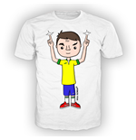 T-shirt uomo grafica FINGER