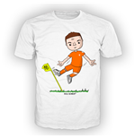 T-shirt bambino grafica HUNTER
