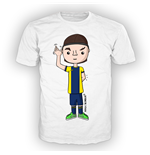 T-shirt bambino grafica NOTHING