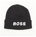 "Beanie Power Francers - grafica ""BOSS"" - colore: Nero"