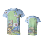 T-shirt ADVENTURE TIME Finn & Jake's Treehouse Sublimation - L