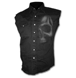 Camicia Spiral Shadow Skull