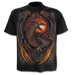T-shirt Spiral Dragon Furnace