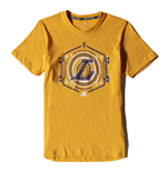 T-shirt / Maglietta Los Angeles Lakers (Giallo)
