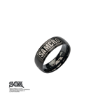 Anello Sons of Anarchy Ring IP Black SAMCRO