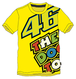 T-shirt Rossi The Doc 2015 Gialla