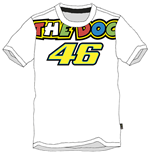 T-shirt Rossi The Doc 2015 Bianca