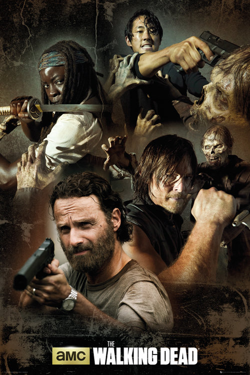 Poster The Walking Dead Collage