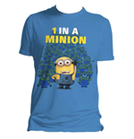 T-shirt Cattivissimo me 2  1 in a Minion- L