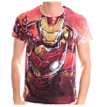 T-shirt MARVEL COMICS Iron Man Blasting Sublimation - L