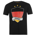 T-shirt Germania 2014 FIFA (Nero)