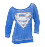 T-shirt manica lunga Superman da donna