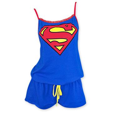 Superman Pigiama Donna