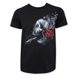 T-shirt Sons of Anarchy Shattered Skull Logo