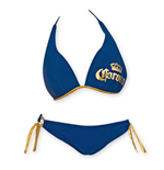Costume da bagno Push Up Blu Navy Corona Extra