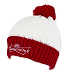 Cappello Donna Budweiser Rosso & Bianco