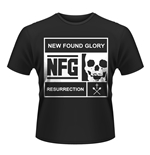 T-shirt New Found Glory Blocked