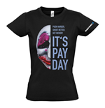 T-shirt PAYDAY 2 Houston Mask - da donna - L