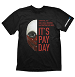 T-shirt PAYDAY 2 Wolf - XL