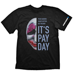 T-shirt PAYDAY 2 Houston Mask - L