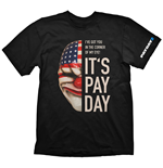 T-shirt PAYDAY 2 Dallas Mask - S
