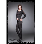 Pantaloni Queen of Darkness 138601