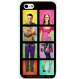 Cover per iPhone Sheldon e Bernadette Big Bang Theory