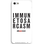 Cover per iPhone Immune To Sarcasm Big Bang Theory