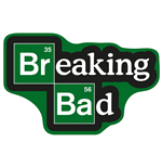 Tappeto Breaking Bad Logo 85 x 55 cm