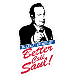 "tappeto Breaking Bad ""Better Call Saul"" misure: 57 x 105 cm"