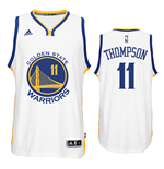 Canotta Golden State Warriors Klay Thompson adidas New Swingman Home Blu