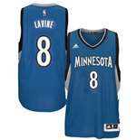 Canotta Minnesota Timberwolves Zach Wiggins adidas New Swingman Road Blu