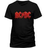 T-shirt AC/DC-RED LOGO