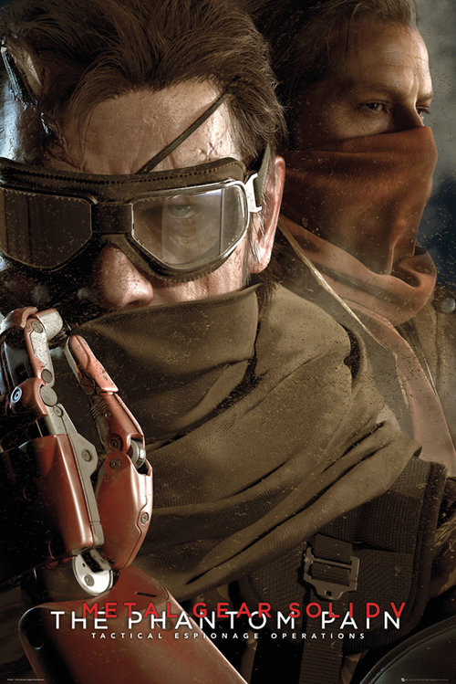 Poster Metal Gear Solid V Goggles