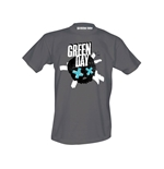 Green Day Crosssed Skull t-shirt