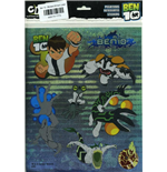 Ben 10 - Stickers Brilliant Laser - Formato 30x21 Cm