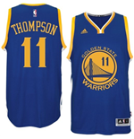 Canotta Klay Thompson Golden State Warriors adidas New Swingman Road Blu