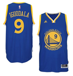Canotta Andre Iguodala Golden State Warriors adidas New Swingman Road Blu