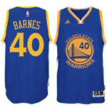 Canotta Harrison Barnes Golden State Warriors adidas New Swingman Road Blu