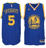 Canotta Golden State Warriors Marreese Speights adidas New Swingman Road Blu