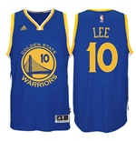 Canotta Golden State Warriors David Lee adidas New Swingman Road Blu