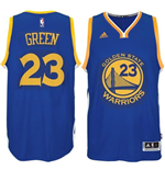Canotta Golden State Warriors Draymond Green adidas New Swingman Road Blu