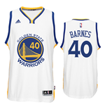 Canotta Golden State Warriors Harrison Barnes adidas New Swingman Home Blu