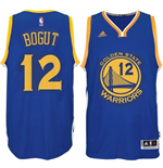 Canotta Golden State Warriors Andrew Bogut adidas New Swingman Blu