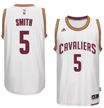 Canotta Cleveland Cavaliers J. R. Smith adidas New Swingman Home Bianco