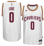 Canotta Cleveland Cavaliers Kevin Love adidas New Swingman Home Bianco