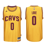 Canotta Cleveland Cavaliers Kevin Love adidas New Swingman Alternate Giallo